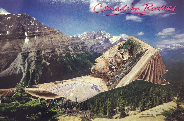 Postcard Cut & Paste Collage Night